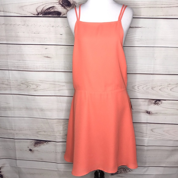 Nasty Gal Dresses & Skirts - Nasty Gal Liza Peach Coral Dress New with tags XL